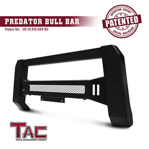 Mesh Modular Bull Bar for 2019 Chevy Silverado 1500 Grille Guard Front Bumper