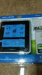 AcuRite Wireless Weather Forecaster with Color LCD