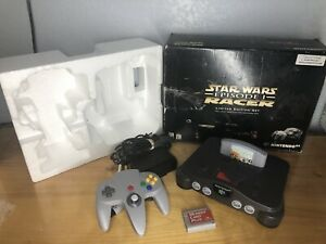 Nintendo 64 N64 Star Wars Episode I Racer Limited Edition Console + Expansion