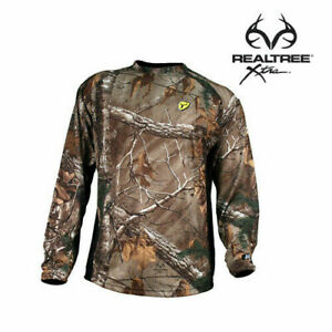 Scent Blocker Youth Hunting 8th Layer L S Shirt Realtree Xtra Camo 8THLSY