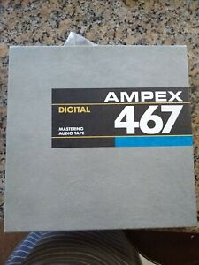Ampex 467 Digital Tape and reel NOS 1 Inch x 2500 New