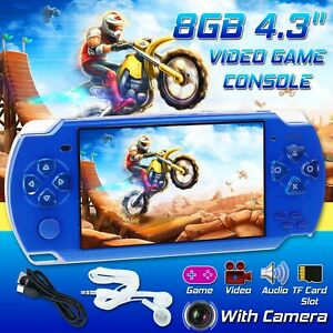 4.3'' PSP Portable Handheld Video Game Console Player Built-in 10000 Games USA