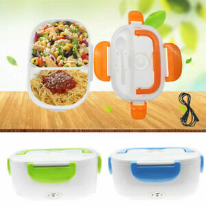 Electric Heated US Plug Heating LunchBox Bento Travel Food Warmer Container 110V