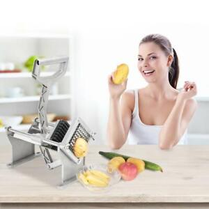 Potato French Fry Fruit Apple Vegetable Cutter Slicer Commercial Quality 3 Blade