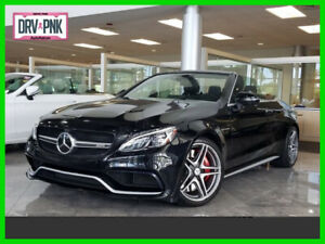 2018 Mercedes-Benz C-Class AMG C 63 S 2018 AMG C 63 S Used Turbo 4L V8 32V Automatic Rear Wheel Drive Convertible