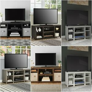 Adjustable Entertainment Center Stand TV Console 50