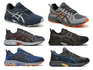 ASICS Men's Trail Running Sneakers, 6 Colors, Medium D & Wide 4E Widths $64.99