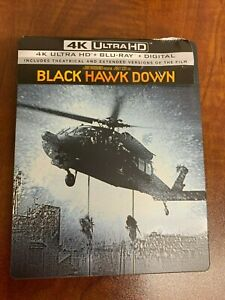Black Hawk Down 4K Ultra HD and Blu-ray Steelbook Best Buy LIKE NEW