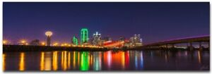 CITY NIGHT CUSTOM FRAMED CANVAS PRINTS. LARGE SELECTION OF SIZES CHOOSE YOURS