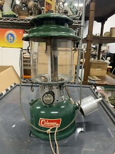 Vintage 1966 Coleman 220F Dual Mantle Camp Lantern NOS Sunshine Of The Night $73.67