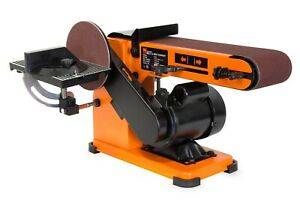 WEN 6500T 4 x 36 Inch Belt and 6 Inch Disc Sander with Steel Base