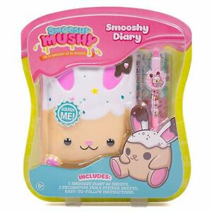 Smooshy Mushy Secret Bitsy Bunny Diary 60 Pages with Stickers and Pens NEW