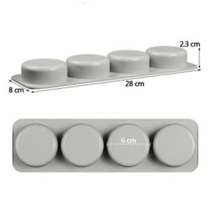 DIY Silicone Soap Mold for Handmade Soaps 3DMould Round Soaps Molds Gifts