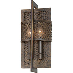 Metropolitan N2725-258 Ajourer Wall Sconce French Bronze
