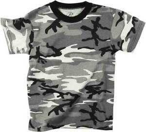 Mens City Camouflage Tactical Military Short Sleeve Army Camo T Shirt