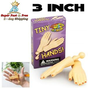 Tiny Hands Funny Prank Little Tricks Sleeves Toy Party Novelty Gag Gift Pair 3
