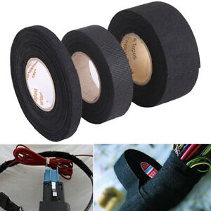 15m Adhesive Wiring Harness Fabric Cloth Tape For Car Automotive Heat Resistant