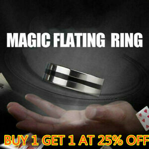 Magic Ring Tricks Play Ball Floating Effect of Invisible Magic Props 75% OFF HOT