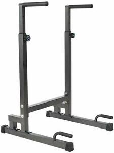 Home Gym Dip Bar Station Pull Up Stand Arm Strength Workout Fitness Equipment