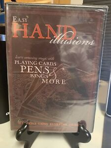 Easy Hand Illusions NEW DVD Magic with Playing Cards Pens Rings amp; More Free SH $12.99