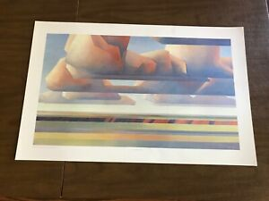 ED MELL VINTAGE LITHOGRAPH NOS.