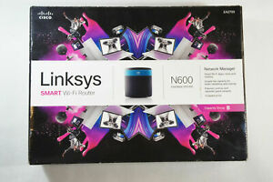 Linksys N600 Wi-Fi Wireless Dual-Band Router with Gigabit Ports Smart Wi-Fi