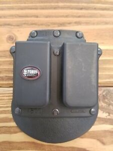 Fobus Double Mag Pouch For 1911 & .45 ACP Single Stack Magazines-4500
