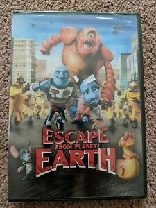 (1A2)  Escape From Planet Earth (DVD 2013) free shipping new