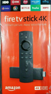 Amazon Fire TV Stick 4K Latest Generation with Alexa Voice Remote - Brand New