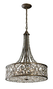 ELK Lighting 112886 Amherst Pendant Antique Bronze
