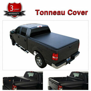6.5FT Bed Roll Up Tonneau Cover Fits for 07-18 Chevy Silverado/GMC Sierra Pickup