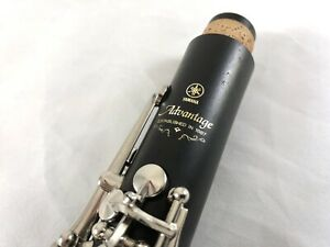 Yamaha YCL-400AD Wood Clarinet - Professionally Overhauled New Pads