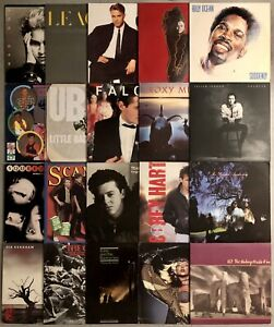 Lot Of 20 New Wave 80's Pop Rock Vinyl Record Albums MADONNA U2 TEARS FOR FEARS