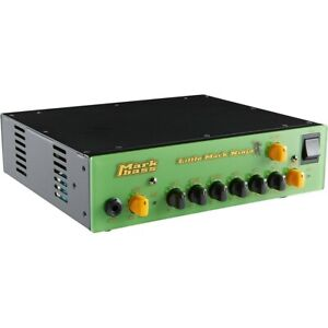 Markbass Littlemark Ninja 1000W Bass Amp Head Lime Green