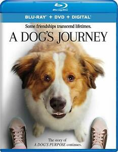 A DOG'S JOURNEY  ** Blu-ray  & DVD ** VG ** includes slipcover and digital