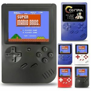 Built-in 400 Games 3 inch TFT Handheld Retro Game Console 8 Bit Mini Game Player