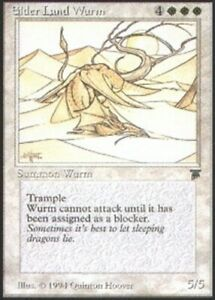 1x Elder Land Wurm x1 Legends Slight Play, English BFG MTG Magic