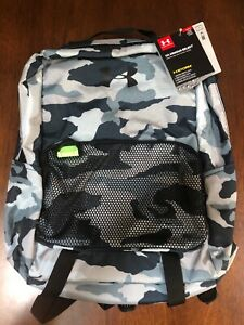 New Under Armour Youth Boys UA Armour Select Backpack 1308765 478 Camo Color