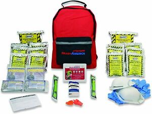 3 Day 2 Person Emergency Kit Survival Backpack Food First Aid Mayday Gear Family