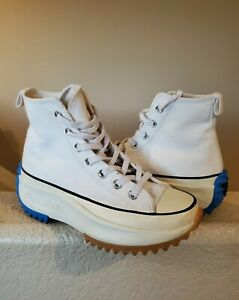 USED Converse x JW Anderson Run Star Hike White OG platforms Chuck 70 high 4