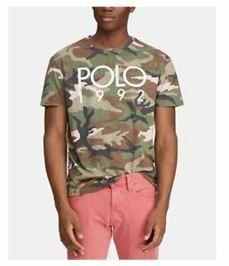 Polo Ralph Lauren Men's T-Shirt 2XLT Camouflage Montauk Limited Edition