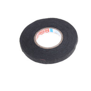 Heat-resistant 19mmx15m Adhesive Fabric Cloth Tape Car Cable Harness Wiring  Dvv