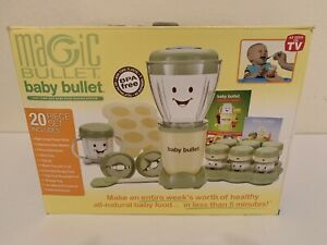 Magic Bullet Baby Bullet Complete Baby Food Making System 20 Piece Set New!