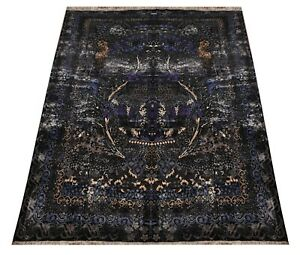 Hand Knotted Oriental Traditional & Flora Luxurious Design Carpet Area Rug 12x18