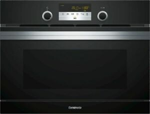 Constructa CC4P86660 - Built-In Microwave Oven with Classic - Black