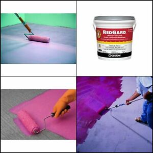 Custom Building Products RedGard 1 Gal. Waterproofing and Crack Prevention