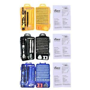 Screwdriver Set 115 in 1 Sets Multi-function Electronic Device Repair Tools