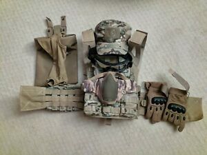 Airsoft Gear - Plate Carrier, Gloves, Face Protection, Magazine Pouches