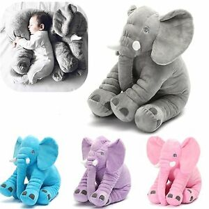 Big Plush Elephant For Baby And Child Soft Pillow Cute Toy For Birthday