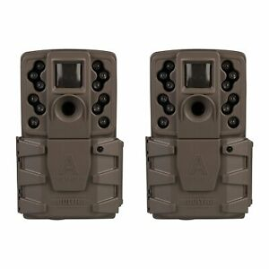 (2 Pack) Moultrie A-25 A25 Infrared IR 12 MP Game Trail Stealth Camera Cam